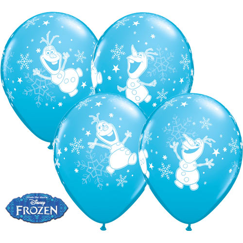 Frozen Olaf Dancing Balloons 11 Inch (Bag of