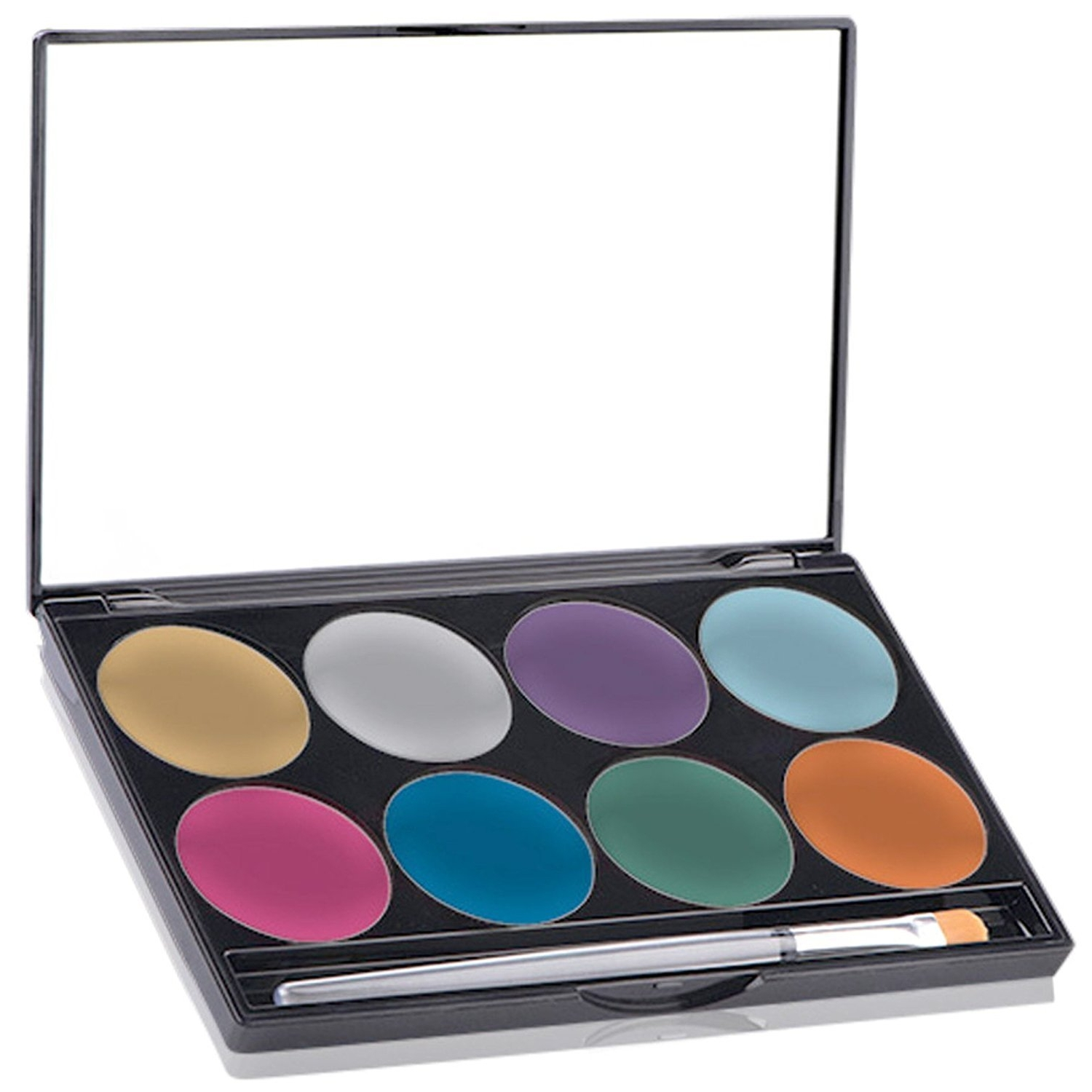 Mehron Paradise Brilliant Face Paint Palette (8 Colors)