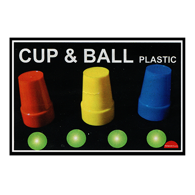 Cups and Balls (Plastic) by Premium Magic Trick