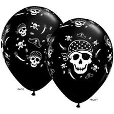 Pirate Skull and Cross Bones Balloons 11 inch