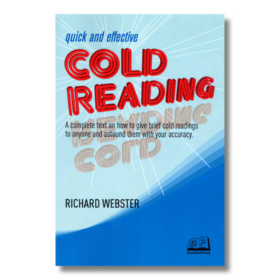 Quick and Effective Cold Reading by Richard Webster Book