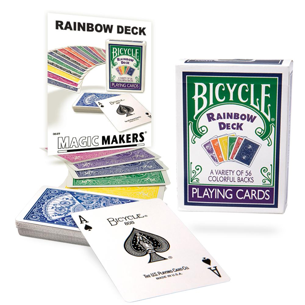 Rainbow Deck with Online Teaching by Magic Makers