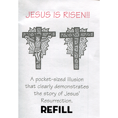 Jesus is Risen refill box by Top Hat Magic Trick