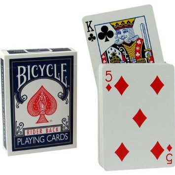 Rising Card Deck Blue
