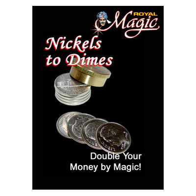 Nickels to Dimes by Royal Magic Trick