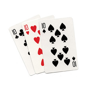 3 Card Monte (Blank) by Royal Magic Tric