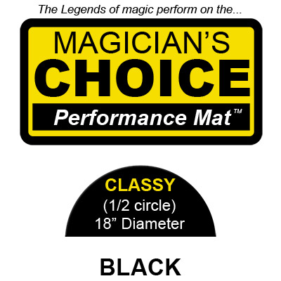 Classy Close Up Mat (BLACK 18 inch) by R