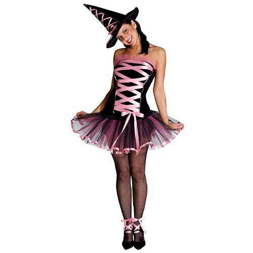 Witchy La Bouf Pink/Black Dress and Hat