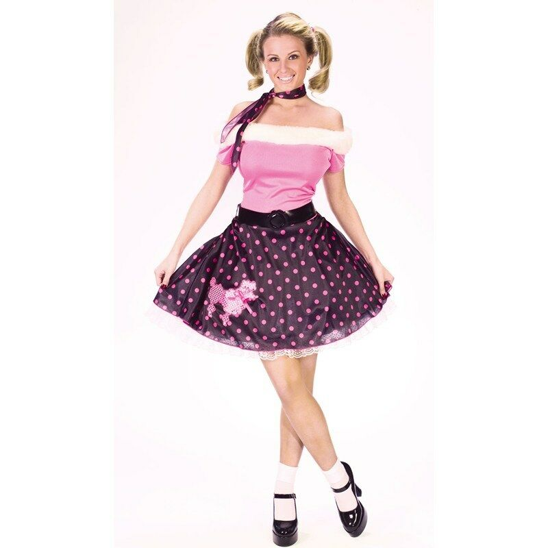 50s Adult Poodle Dress Costume by Fun Wo