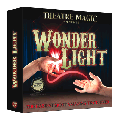 Wonder Light (DVD and Gimmick) by Theatre Magic Trick