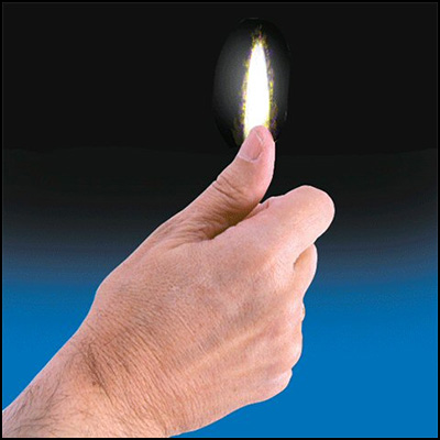 Thumb Tip Flame by Vernet Trick