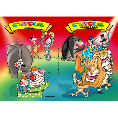 Micro Coloring Book (Circus) by Uday Trick   USA Magic Tricks