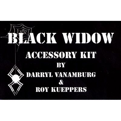 Black Widow Accessory Kit by Roy Kuepper