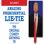 Amazing Presidential Lie Tie by Milt Lar