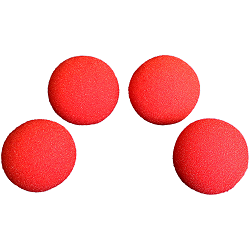 1.5 inch Regular Sponge Ball (Red) Bag o