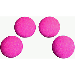 1.5 inch HD Ultra Soft Hot Pink Sponge B