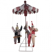 Clown Merry Go Round Animated